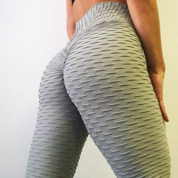 1455aa55261d abs2b Pants - ABS2B Zero flaws textured leggings in pure grey